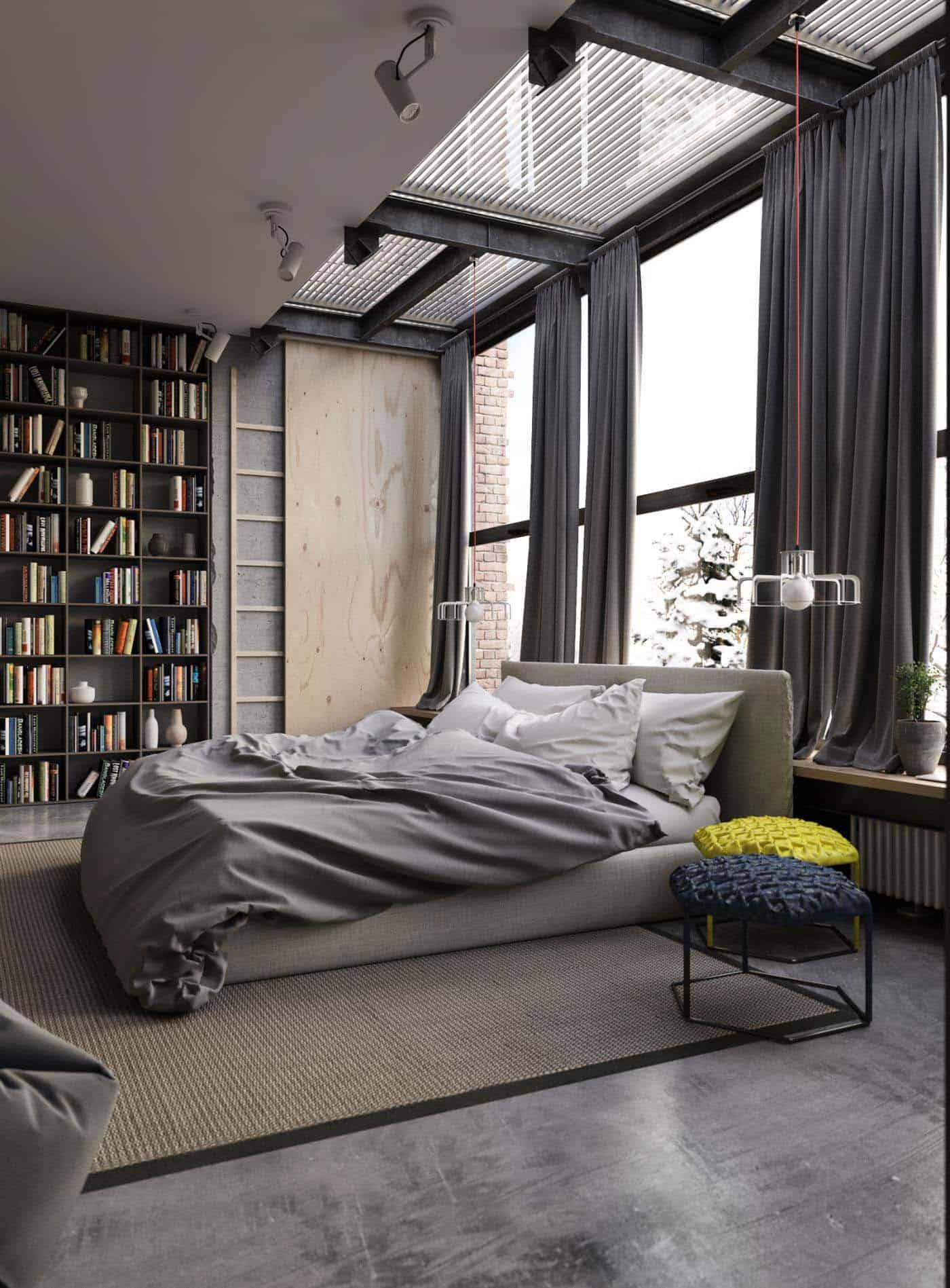 Smart stort sovrum