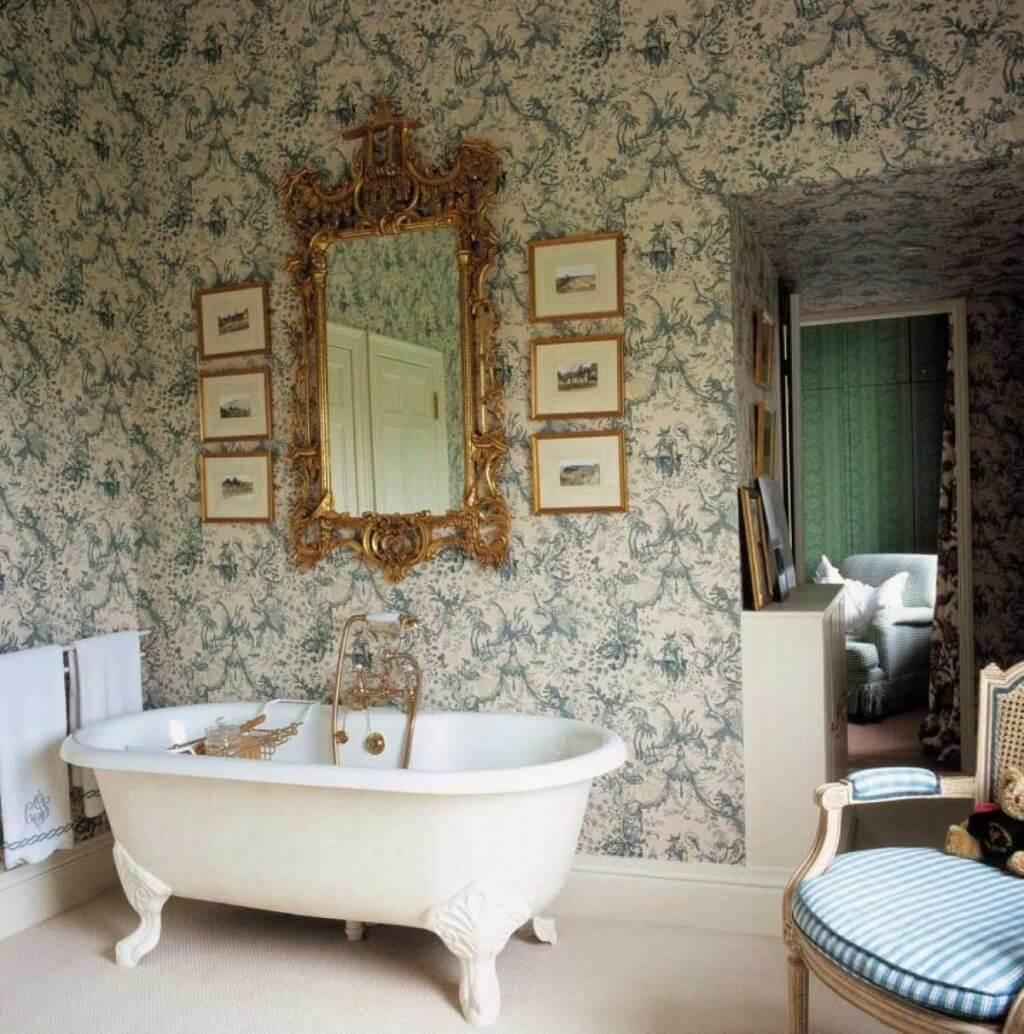 Fantastiskt viktorianskt badrum