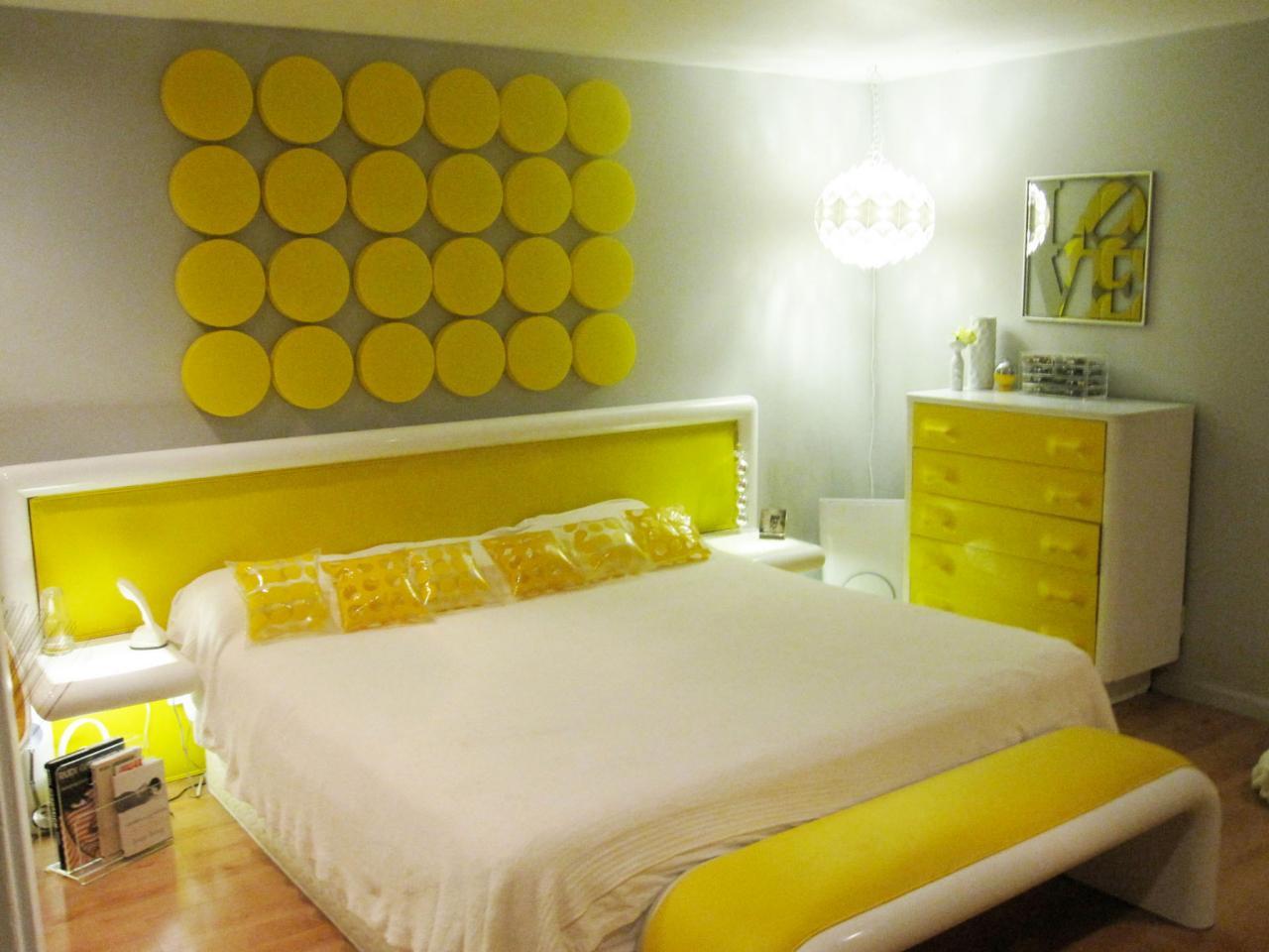 Nytt gult sovrum