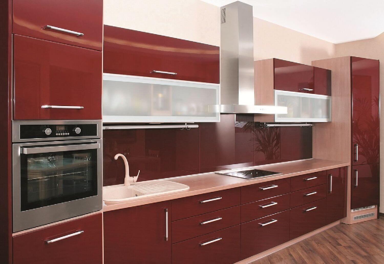 Imponerande köksskåp färg