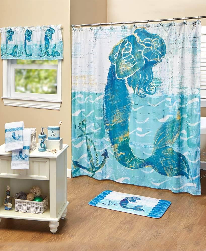Bekväm sjöjungfru badrum