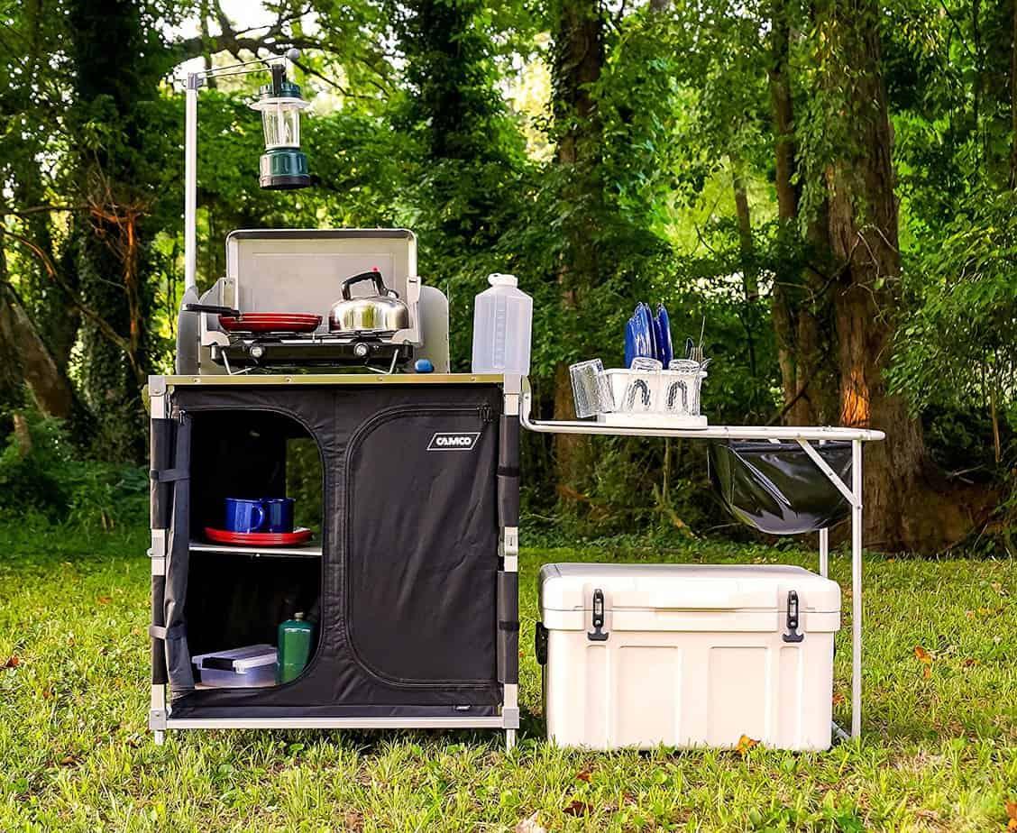 Camping modernt utekök