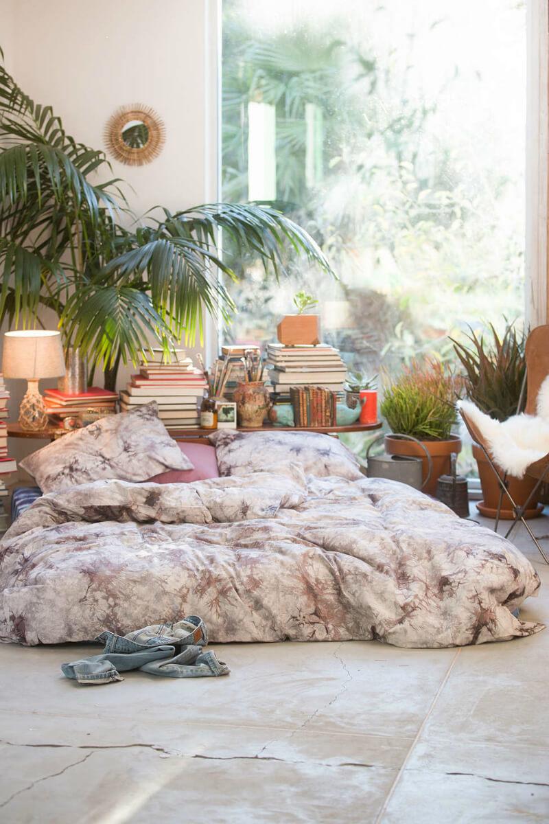 Trevligt bohemiskt sovrum