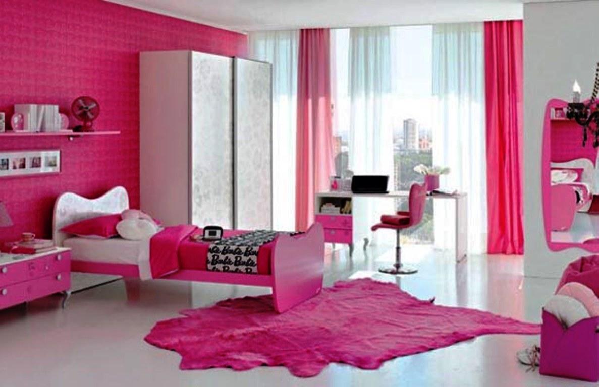 Fantastiskt rosa sovrum