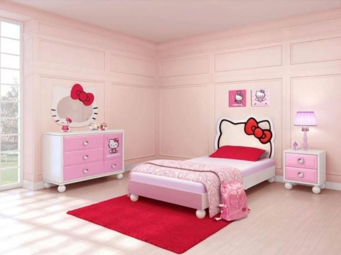 Hello Kitty Pink sovrum
