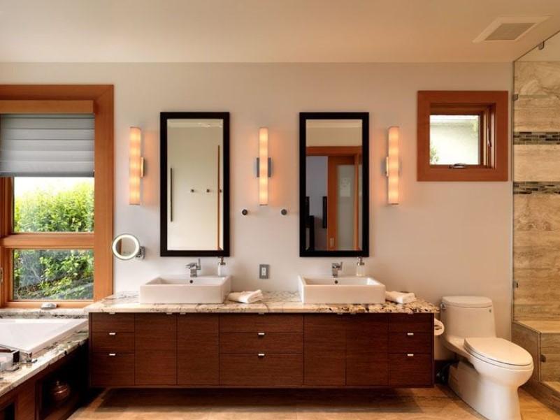15 idéer för badrumsspegel 2020 (öka ditt badrumsvärde) 3