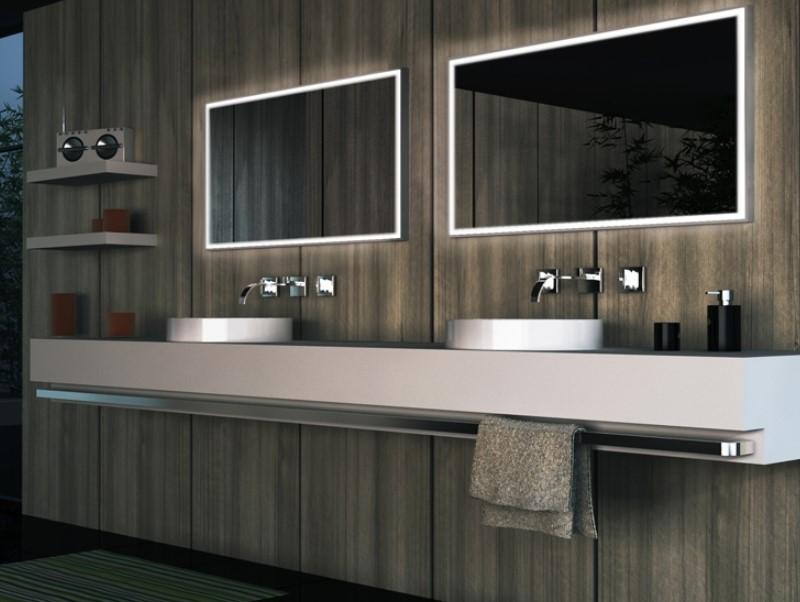 15 idéer för badrumsspegel 2020 (öka ditt badrumsvärde) 4
