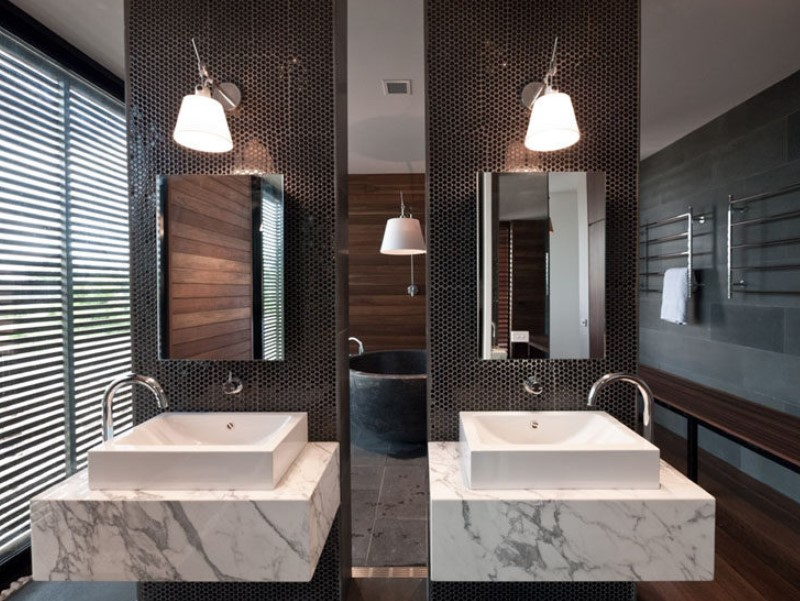 15 idéer för badrumsspegel 2020 (öka ditt badrumsvärde) 2