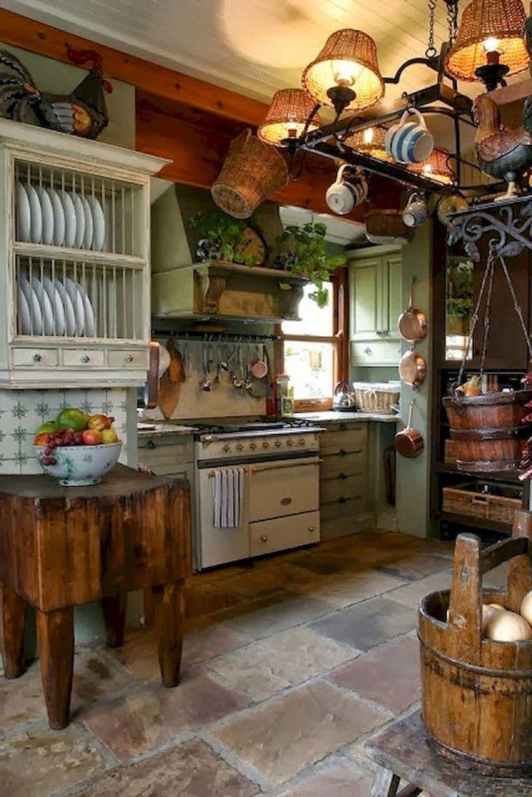 Trevligt primitivt kök