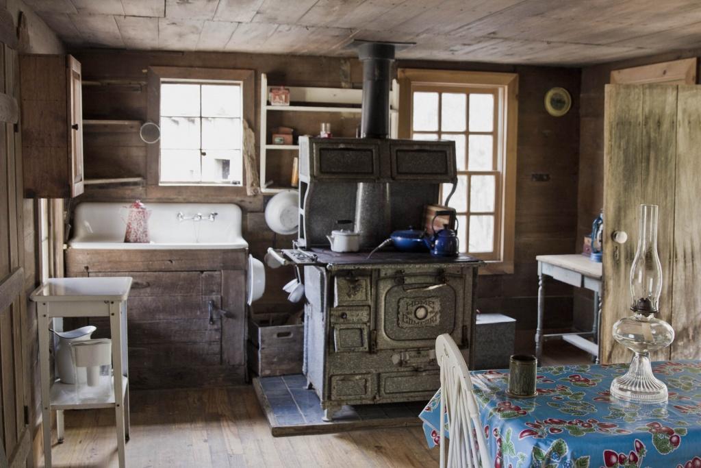 Stuga primitivt kök
