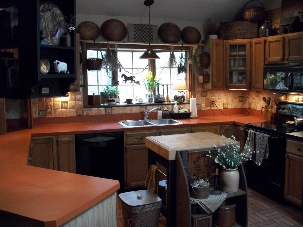 Underbart primitivt kök
