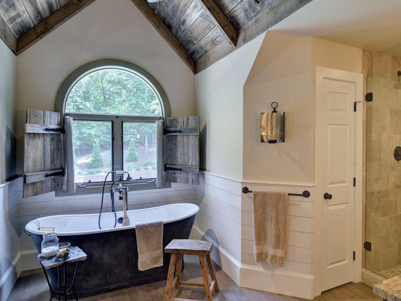 45 idéer för badrumsfönster 2020 (för olika mönster) 8
