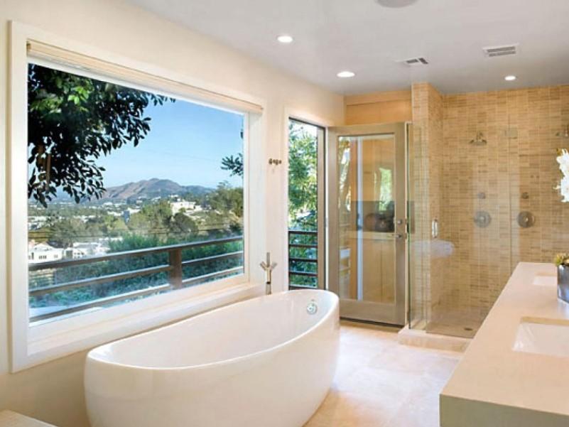 45 idéer för badrumsfönster 2020 (för olika mönster) 5