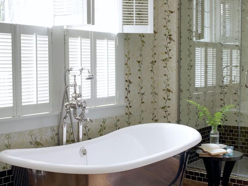 45 idéer för badrumsfönster 2020 (för olika mönster) 4