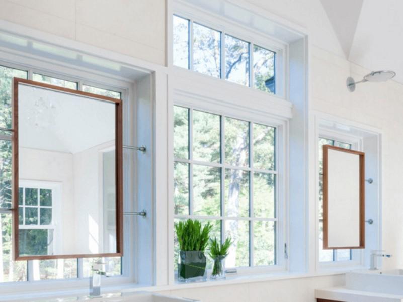 45 idéer för badrumsfönster 2020 (för olika mönster) 13
