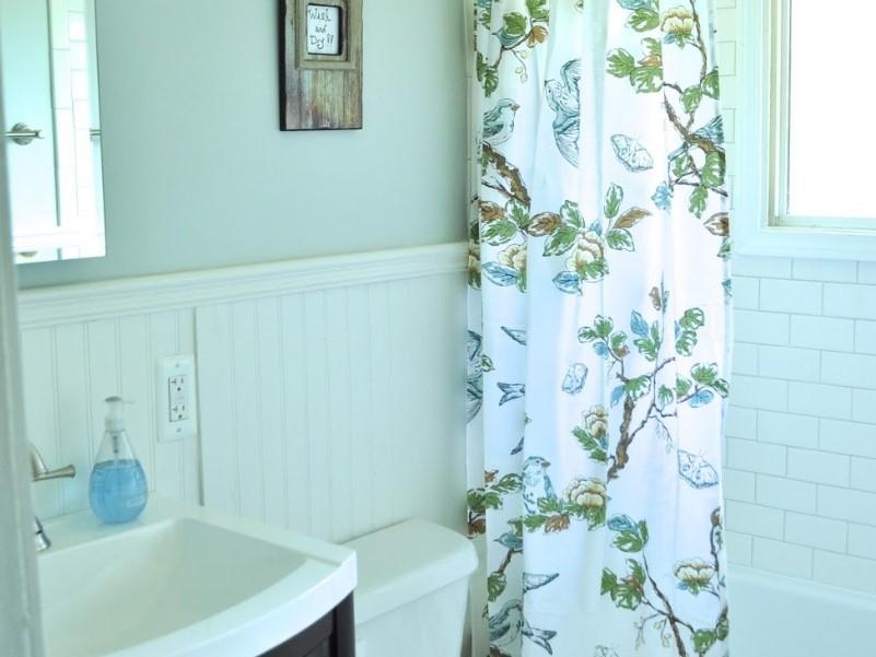 45 Blå badrumsidéer 2020 (olika uppfriskande mönster) 12