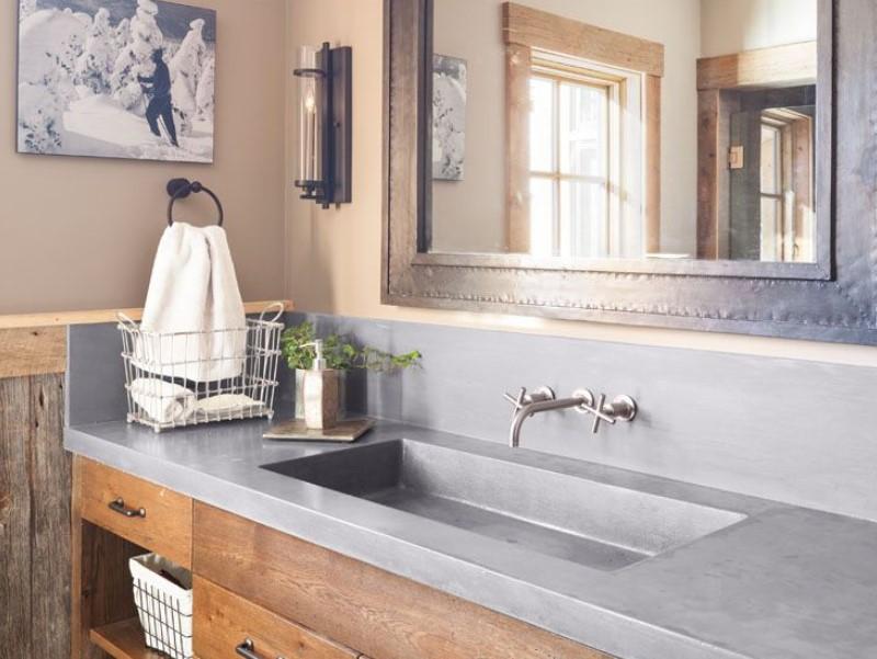 15 Idéer för bänkskivor i badrummet 2020 (och deras plus) 9