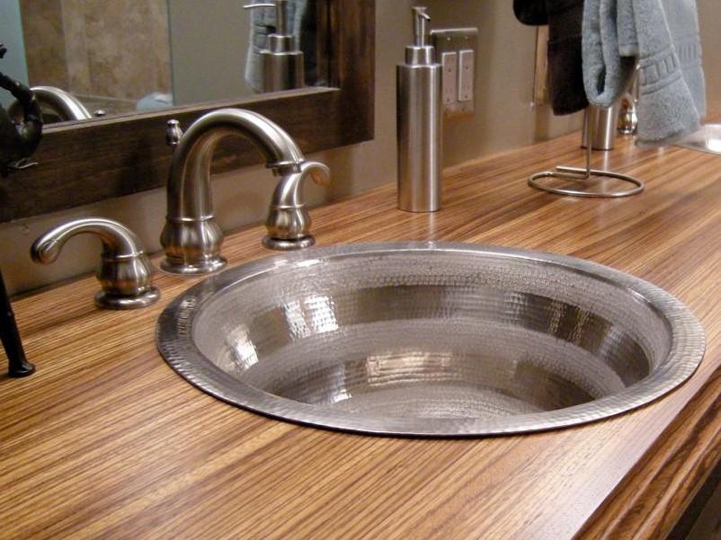 15 Idéer för bänkskivor i badrummet 2020 (och deras plus) 12