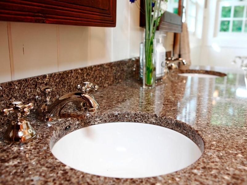 15 Idéer för bänkskivor i badrummet 2020 (och deras plus) 7