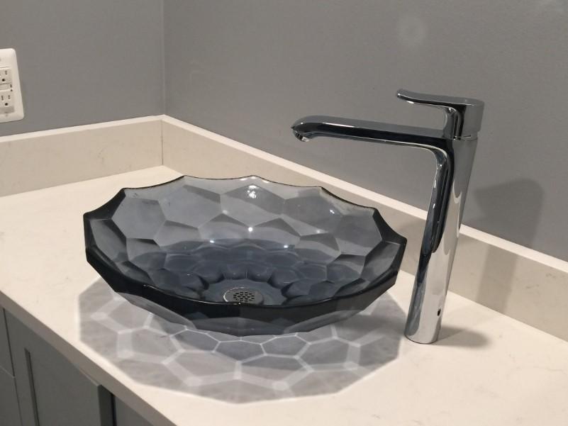 15 Idéer för bänkskivor i badrummet 2020 (och deras plus) 11