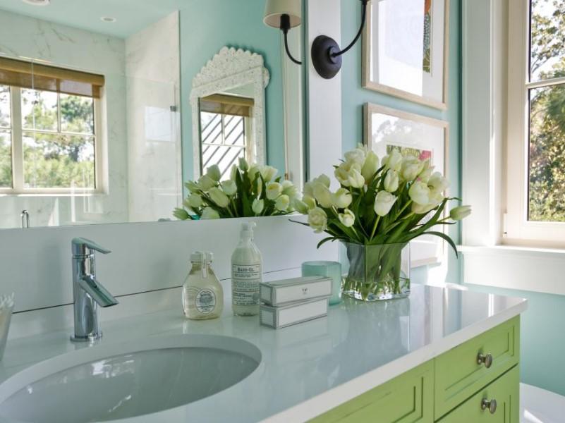 15 Idéer för bänkskivor i badrummet 2020 (och deras plus) 3
