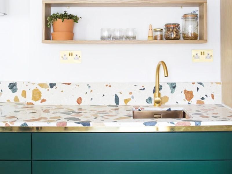 15 Idéer för bänkskivor i badrummet 2020 (och deras plus) 14