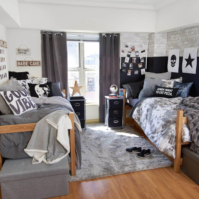 Manligt delat sovrum