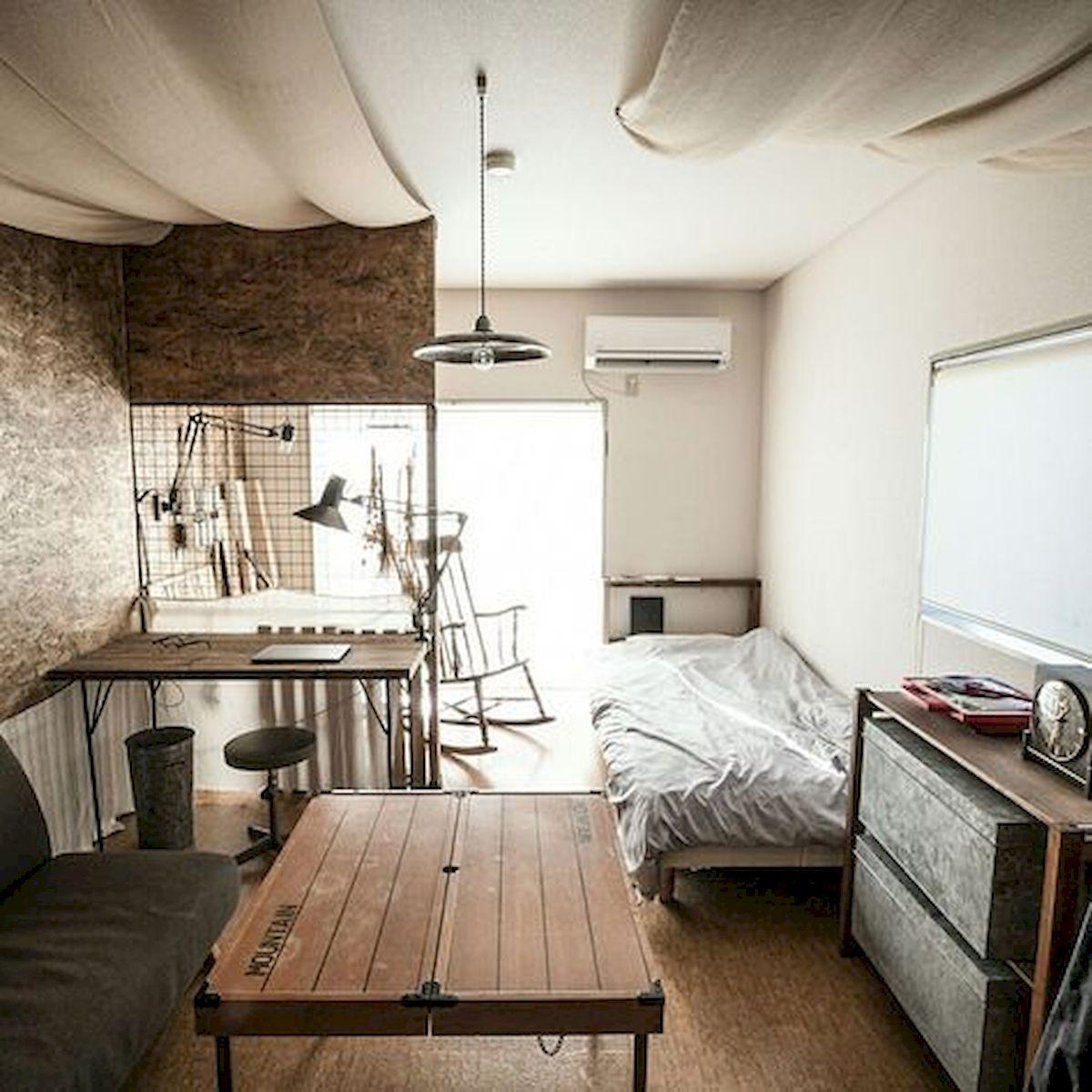 Enkelt college sovrum