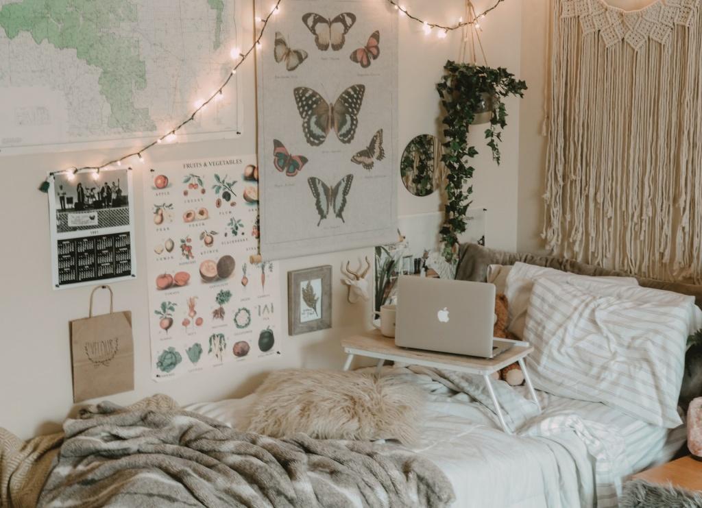 Mysigt college sovrum