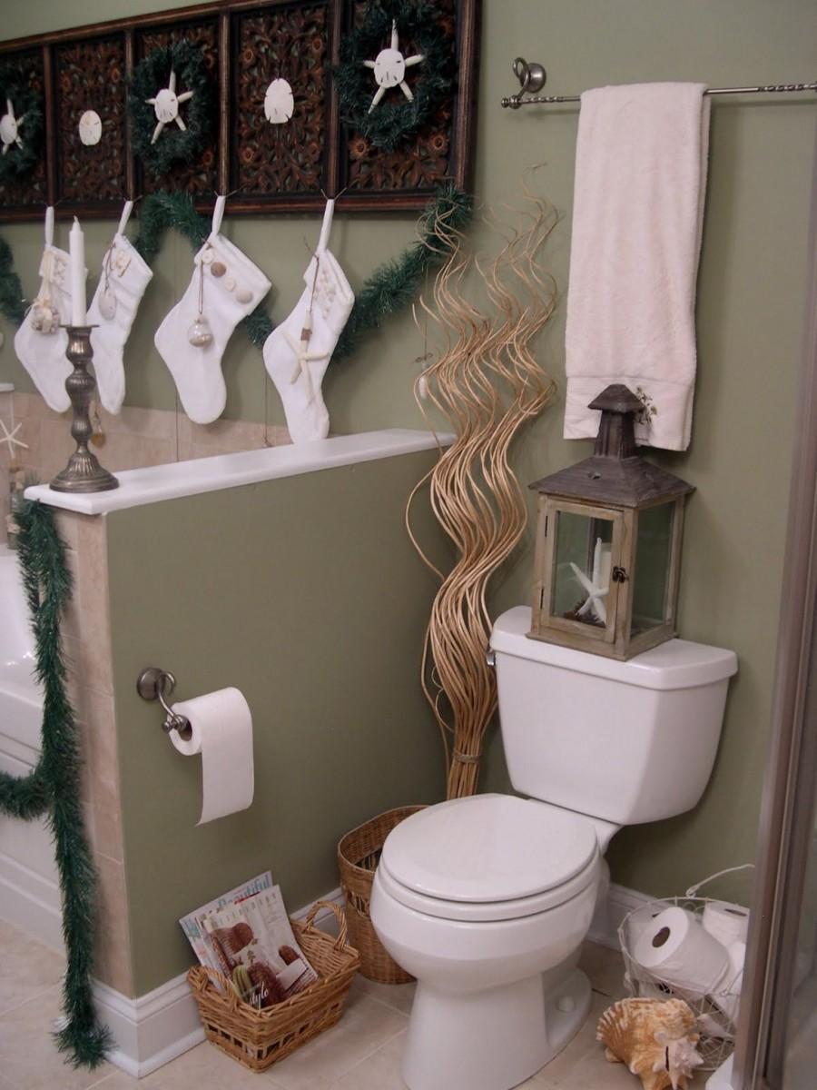 Kreativt DIY badrum
