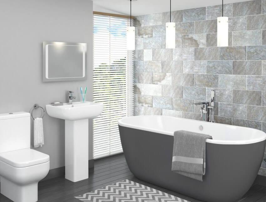 15 färgidéer för badrumsfärger 2020 (gör din mer attraktiv) 14
