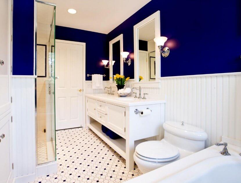 15 idéer för badrumsfärger 2020 (gör din mer attraktiv)
