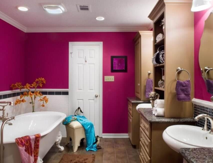 15 färgidéer för badrumsfärger 2020 (gör din mer attraktiv) 10