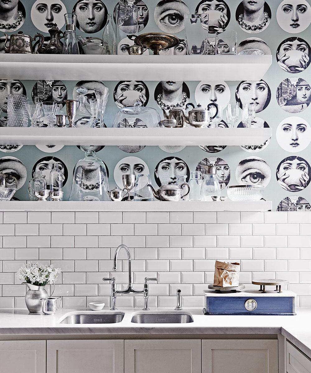 Ansikte kök tapeter
