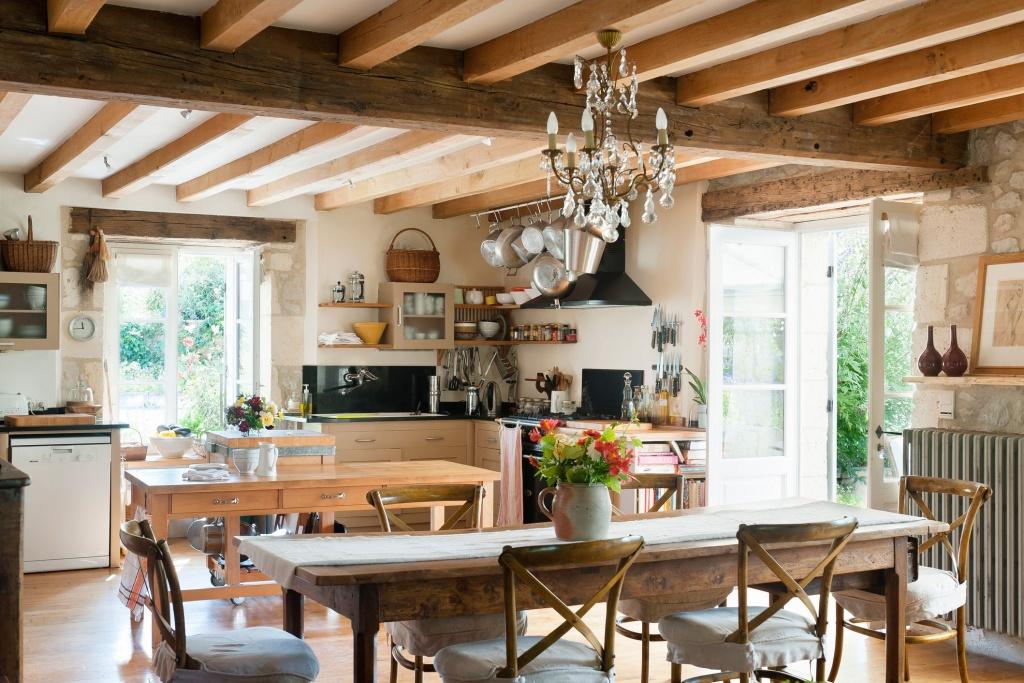 Traditionellt franskt lantkök