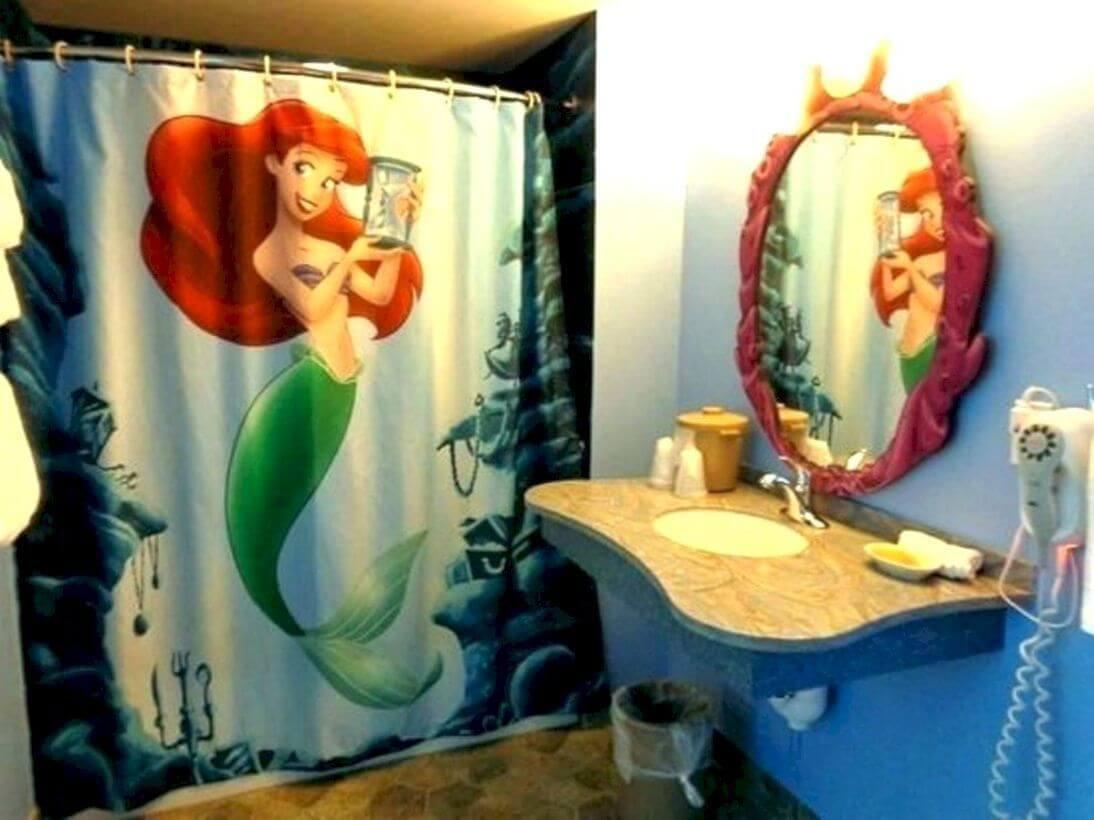 Trevligt sjöjungfru badrum