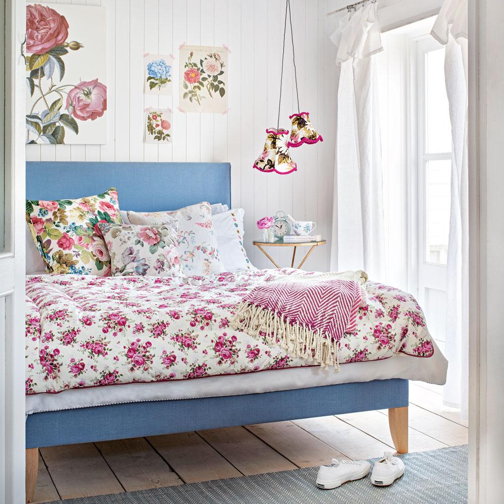 Trevligt avkopplande sovrum