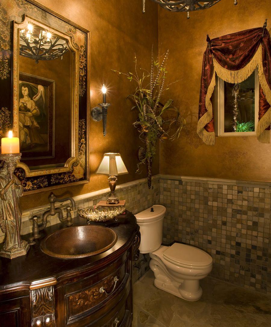 Graciösa toskanska badrum
