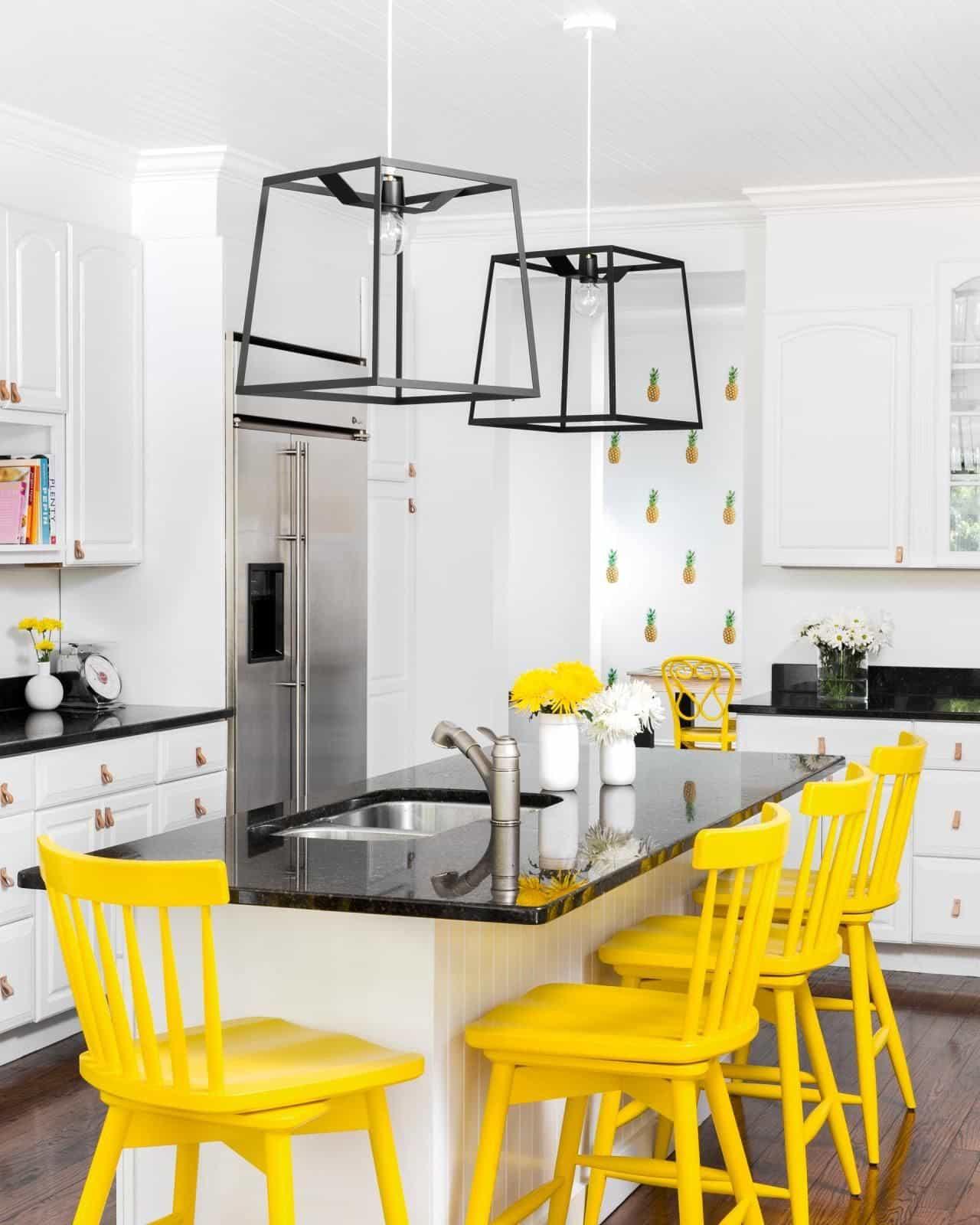 Smart gult kök