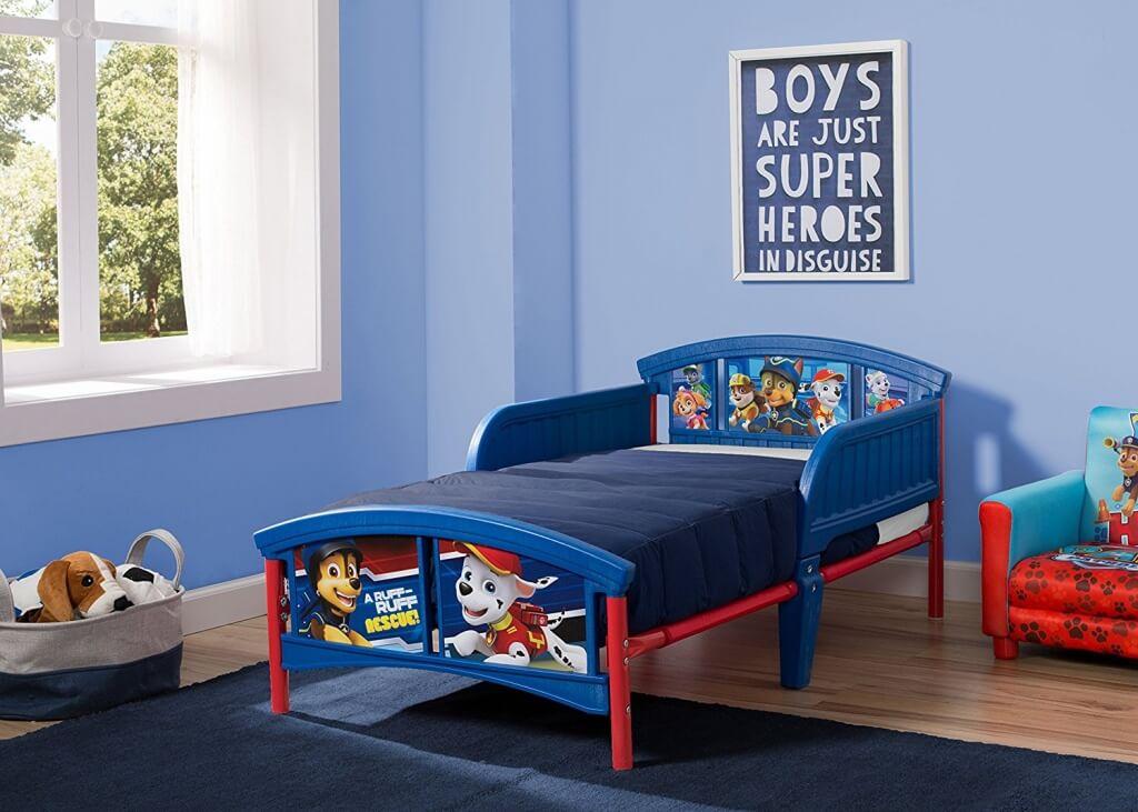 Trevligt Paw Patrol sovrum
