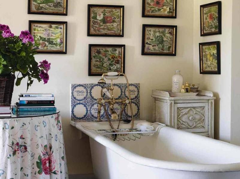15 Idéer för landsbygdens badrum 2020 (inspiration för att designa scener) 13