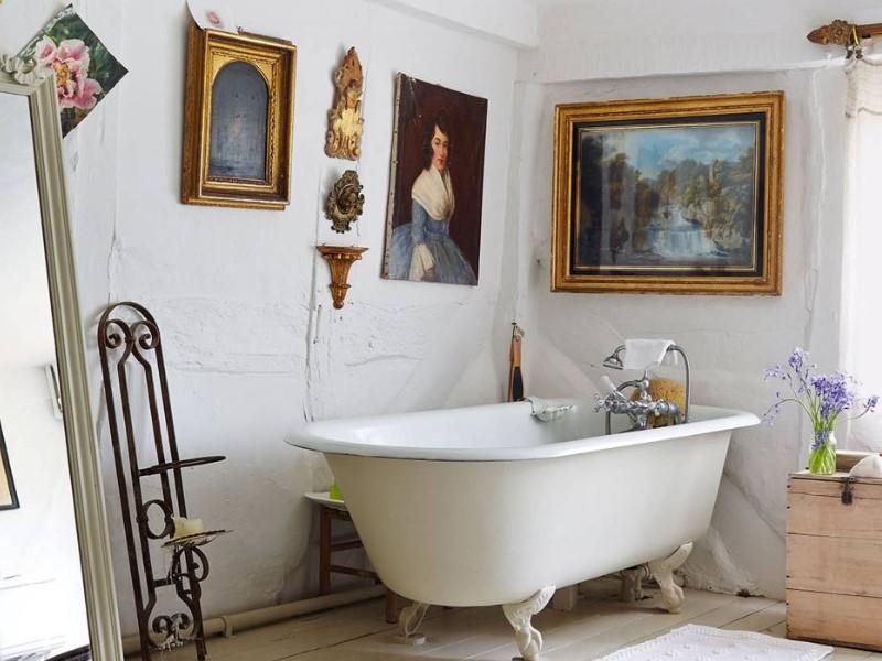 15 lantliga badrumsidéer 2020 (inspiration för att designa scener) 2