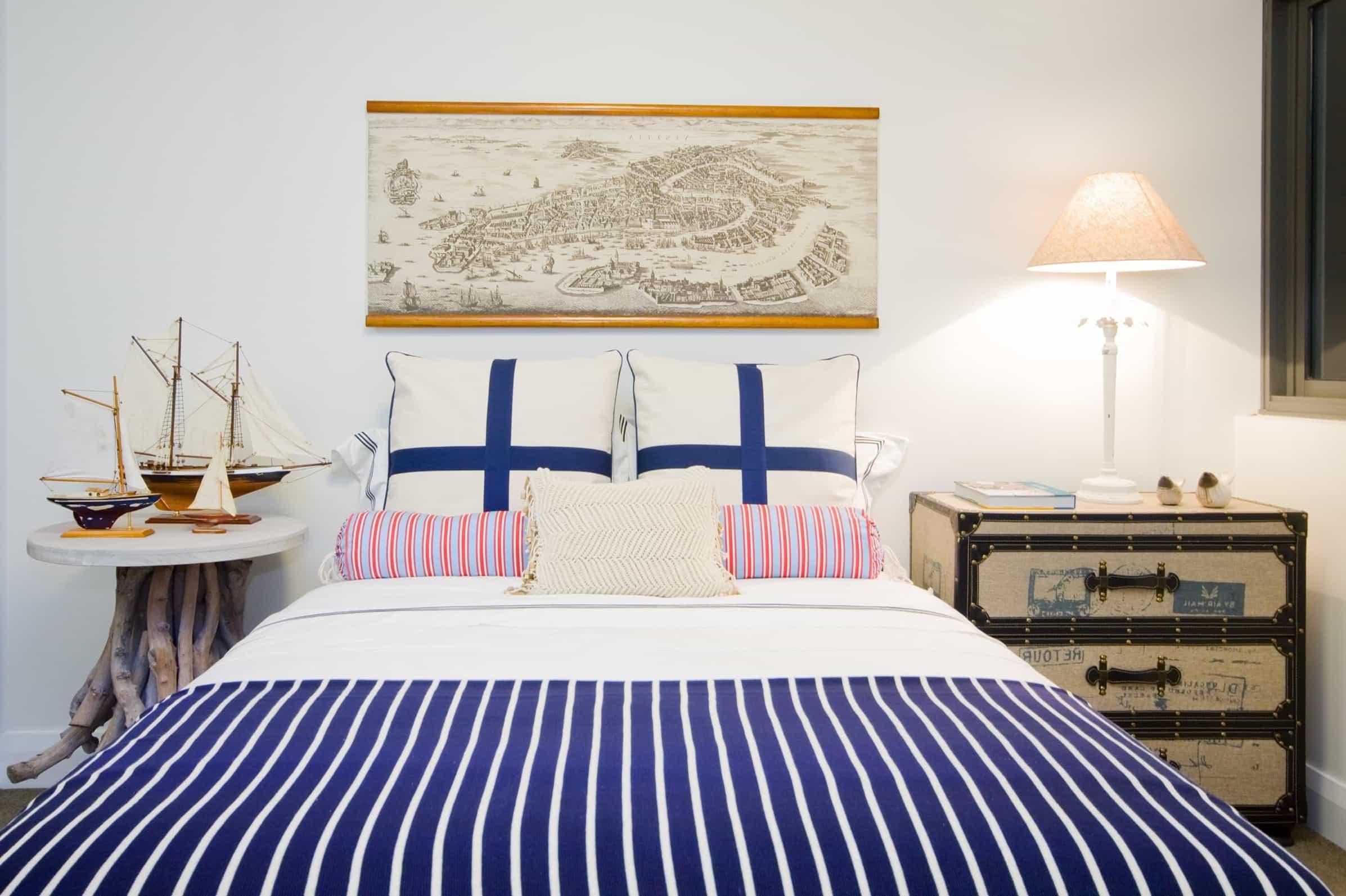 Underbart nautiskt sovrum