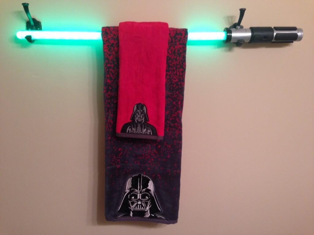 Unikt Star Wars-badrum