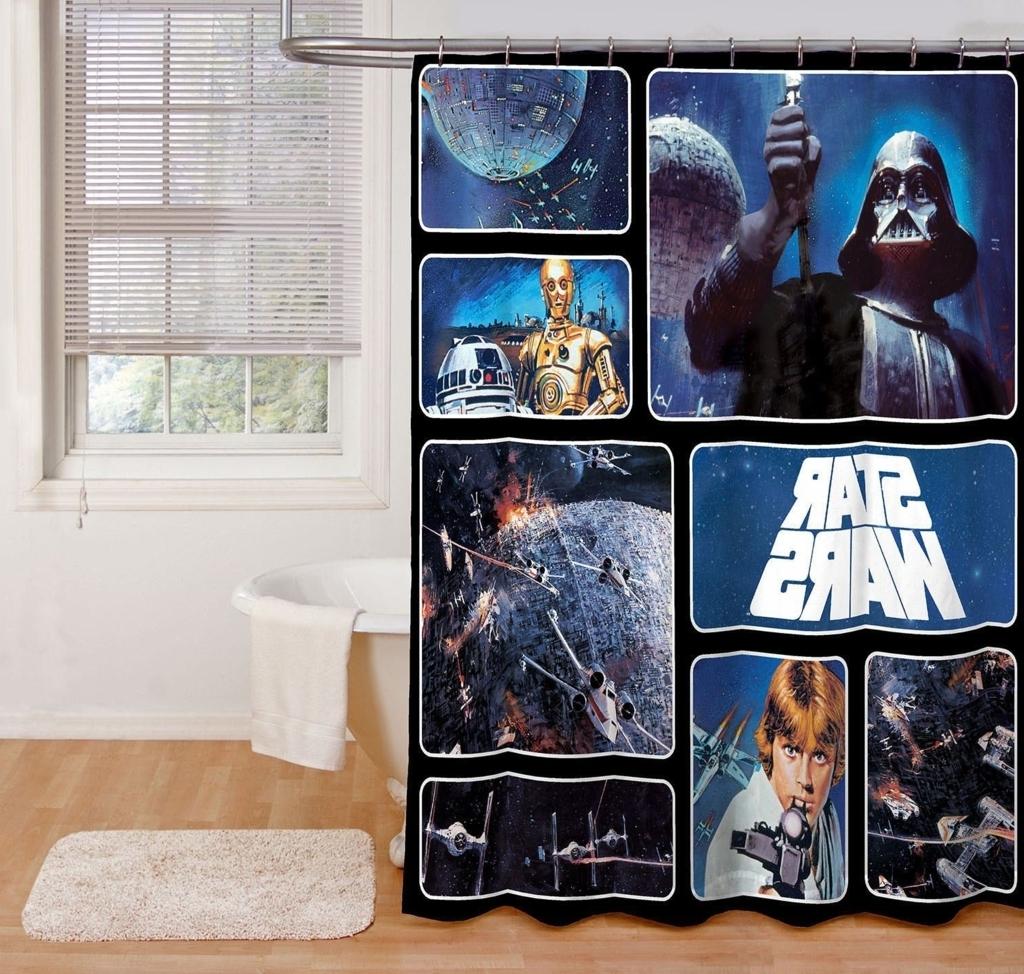 Trevligt Star Wars badrum