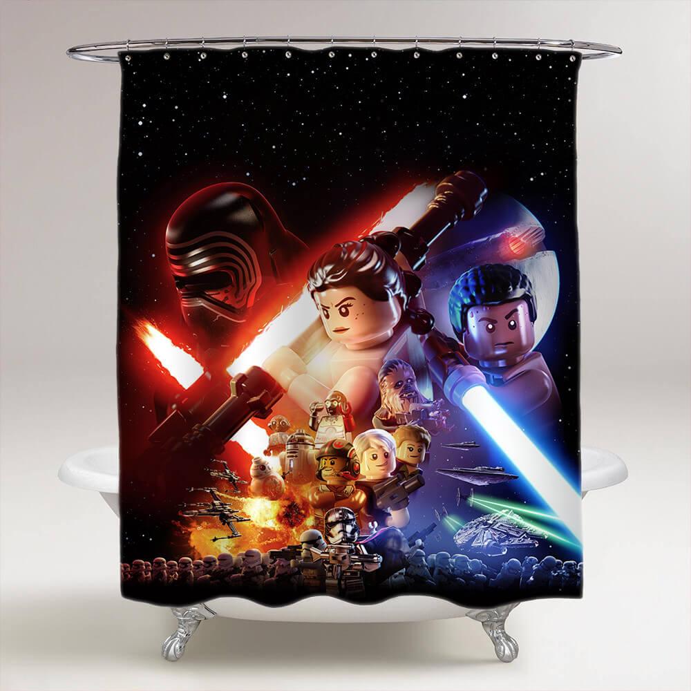 Bedårande Star Wars badrum