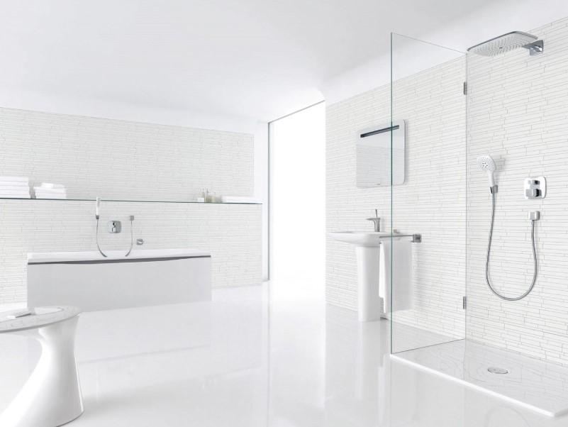 15 idéer för ett vitt badrum 2020 (enkelt men elegant) 1