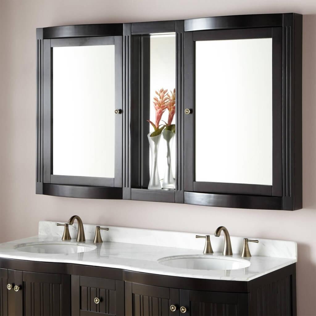 Snyggt badrumsmedicinskåp