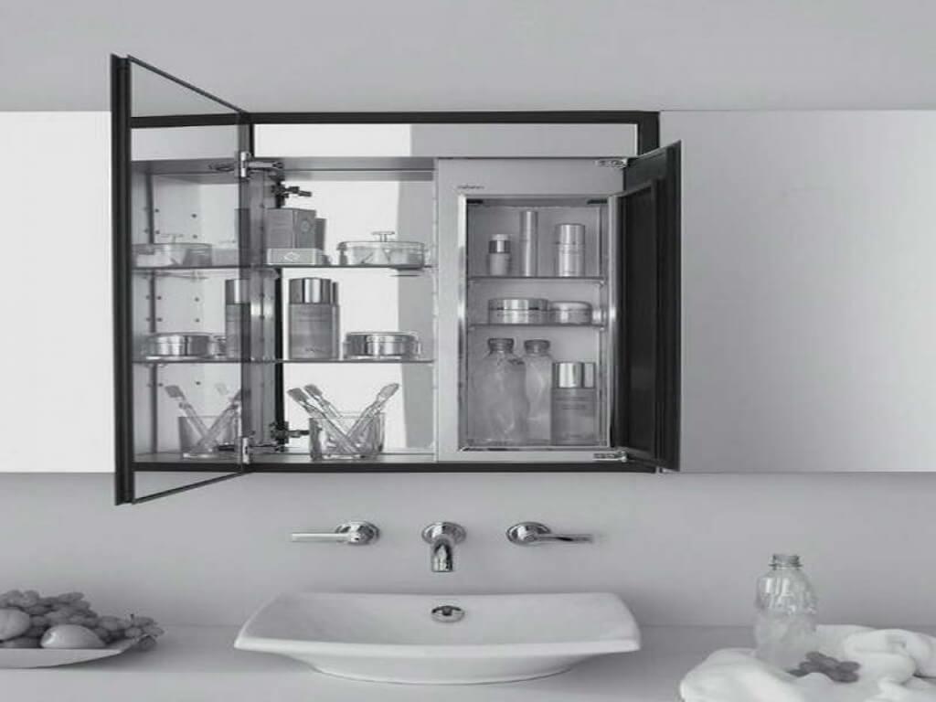 Rikt badrumsmedicinskåp