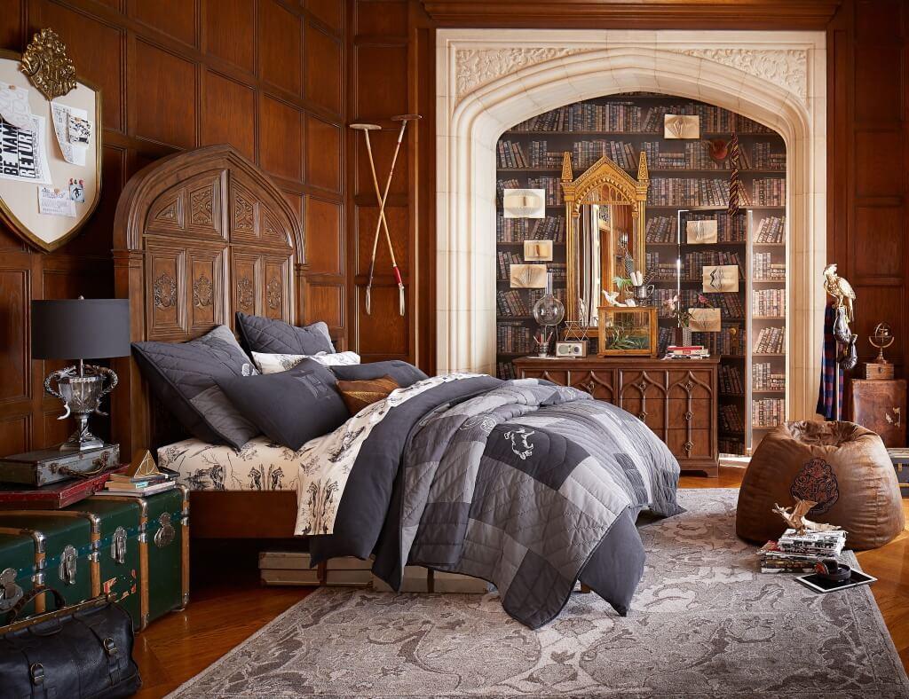 Magiskt Harry Potter-sovrum